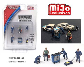 1:64 Mechanic Figures (Set of 6)