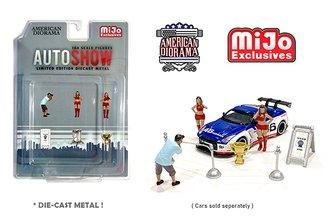 American Diorama 1:64 Figures - Autoshow Girls (Set of 6)
