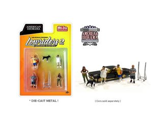 American Diorama 1:64 Figures - Lowriders II