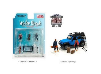 American Diorama 1:64 Figures - Winter Break