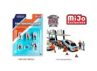 American Diorama 1:64 Figures - Team Transporter Crew