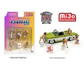 American Diorama 1:64 Figures - Bikini Car Wash Girls