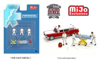 American Diorama 1:64 Figures - Paramedic Set