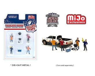 American Diorama 1:64 Figures - Tailgate Party