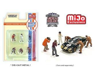 American Diorama 1:64 Figures - Race Day #1