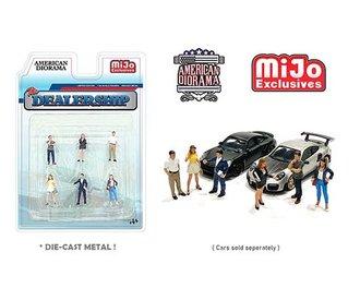 American Diorama 1:64 Figures - The Dealership Set