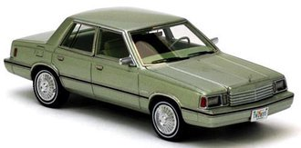 1983 Dodge Aries K-Car (Light Green Metallic)