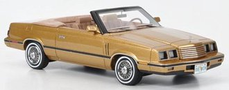 1984 Dodge 600 Convertible (Gold Metallic/Fawn)