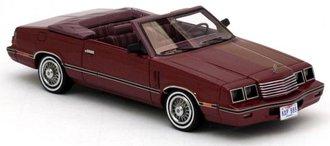 1984 Dodge 600 Convertible (Red Metallic/Red)