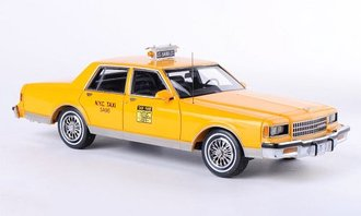 """1985 Chevy Caprice Classic Taxi """"New York City"""""""