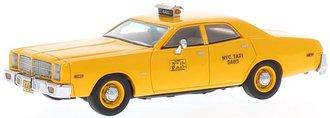 """1:43 1978 Dodge Monaco Taxi """"New York City"""" (Yellow)"""
