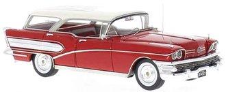 1958 Buick Century Caballero (Red/White)