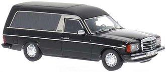 1978 Mercedes W123 Funeral Car (Black/Matte Black)