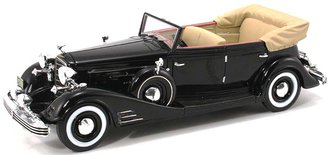 1933 Cadillac Fleetwood All Weather Phaeton Open (Black)