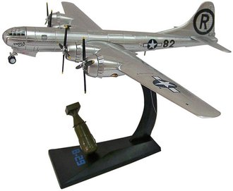"B-29 USAAF 509th Composite Group, ""Enola Gay"", Hiroshima, Japan, Aug 6 1945 w/1:60 ""Little Boy"" Bomb"
