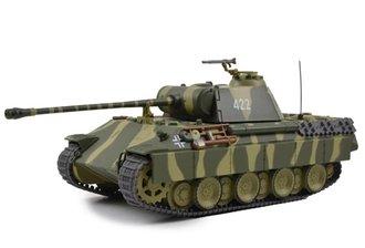 1:43 German Sd. Kfz. 171 PzKpfw V Panther Ausf. A Medium Tank w/Side Armor Panels, Poland,1944