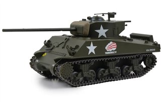 1:43 US M4A3 Sherman Medium Tank - Creighton Abrams' Thunderbolt IV Bastogne,Belgium,1944