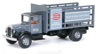 "Mack BM Stake Body Truck ""New York Central System"" w/Barrels"