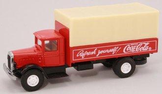 """1:64 Mack BM Canvas-Back Truck """"Coca-Cola"""""""