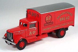 """Peterbilt 260 Box Van """"A&P"""""""