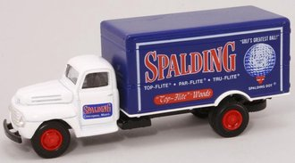 "1:64 Ford F-5 Box Van ""Spalding Golf"""