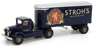 "Mack BM w/22' Trailer ""Stroh's Beer"""