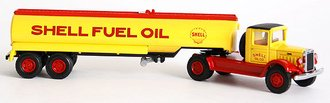 "Mack BM Semi-Tanker ""Shell Fuel Oil"""