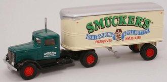 "Peterbilt 260 w/22' Trailer ""Smucker's Preserves & Jellies"""