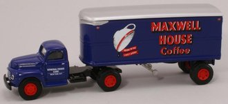 "Ford F-7 w/22' Trailer ""Maxwell House Coffee"""