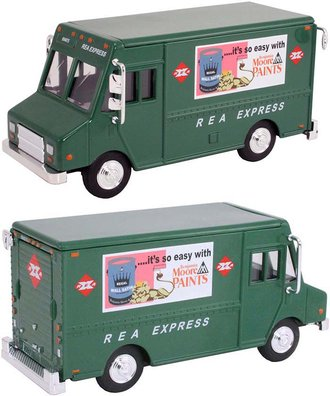 "1:48 Delivery Step Van ""REA Express"" (Green)"
