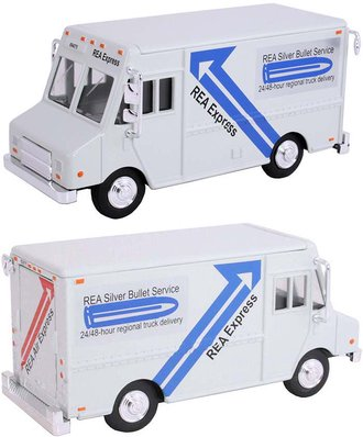 "1:48 Delivery Step Van ""REA Express"" (Gray)"