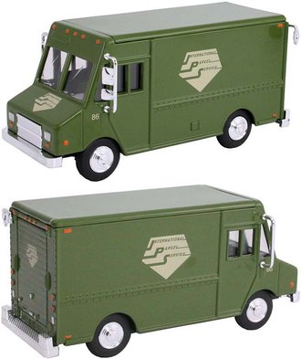 "1:48 Delivery Step Van ""International Parcel Service"" (Green)"