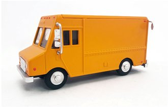 1:48 Delivery Step Van (Orange - Undecorated)