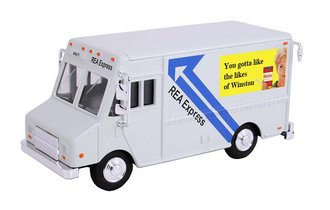 "1:48 Delivery Step Van ""REA Express - Winston - Gotta Like"""