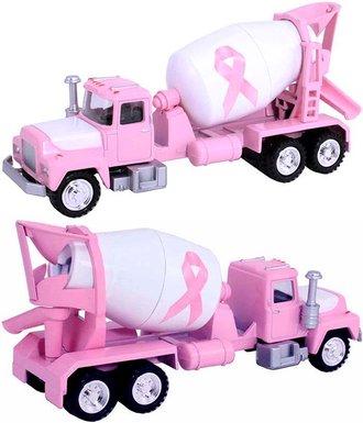 1:50 Cement Mixer Truck (Pink/White)