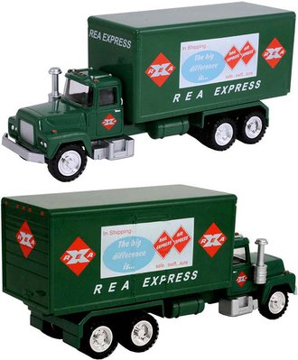 "1:50 Delivery Truck ""REA Express"" (Green)"