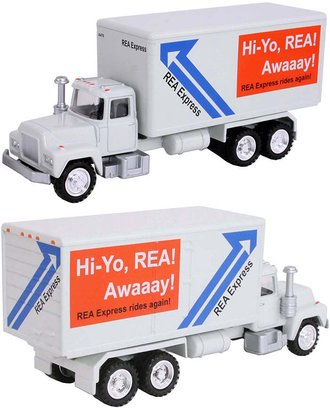 "1:50 Delivery Truck ""REA Express"" (Gray)"