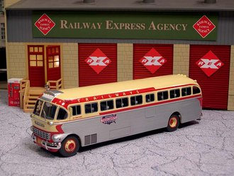 "1:50 1948 ACF-Brill IC-41 Coach ""National Trailways Bus System"""