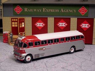 """1:50 1948 ACF-Brill IC-41 Coach """"American Buslines"""""""