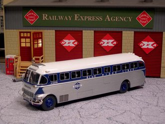 "1:50 1948 ACF-Brill IC-41 Coach ""Blue Ridge Lines"""