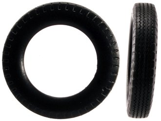 1:24 Automobile Tires - 1940's (12) (5mm x 26mm)