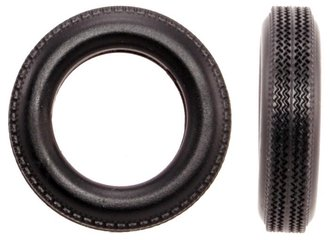 1:24 Automobile Tires - 1950's (10) (7mm x 28mm)