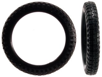 1:24 Bicycle / Motorcycle Tires (16) (3mm x 22mm)