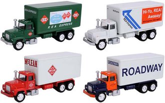 1:50 Delivery Truck Collection (Set of 4)