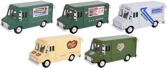 1:50 Delivery Step Van Collection (Set of 5)