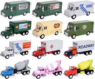 1:50 Complete Truck Collection (Set of 12)