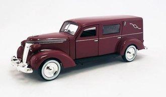 1:43 1937 Studebaker Hearse (Maroon)