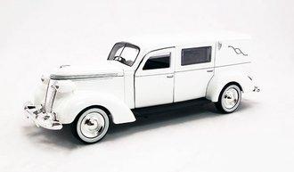 1:43 1937 Studebaker Hearse (White)