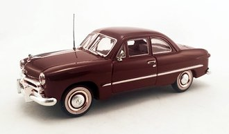 1:43 1949 Ford 2-Door Coupe (Midland Maroon Poly)