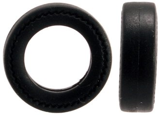 "1:43 Automobile Tires (20) - 1960's (13"") (4mm x 14mm)"